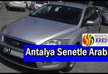 Antalya Senetle Araba Veren Yerler