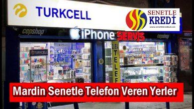 Mardin Senetle Telefon Veren Yerler