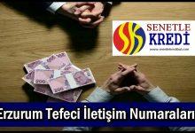 Erzurum Tefeci İletişim Numaraları